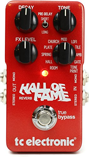 Tc Electronic Hall Of Fame Review 2019 Guitar Effects Pedalz